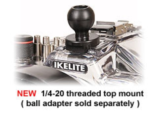 Kulička flex 2.8cm pro vrchní montáž IKELITE
