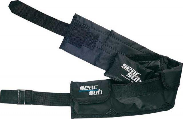 Zátěžový opasek SeacSub kapsový SEAC SUB